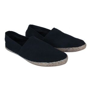 Fine Arch-denim Espadrilles For Men_espa-13-black