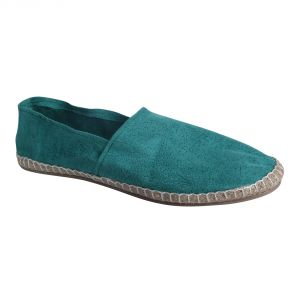 Fine Arch-canvas Espadrilles For Men_espa-16-green