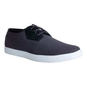 Fine Arch-canvas Casual Shoes For Men_fad-01-grey