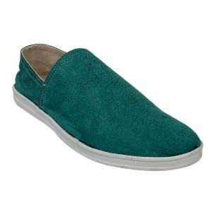 Fine Arch Casual Slip On Shoes For Men_s-027-d-green