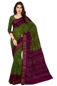 Nirja Creation Green Color Art Silk Saree Nc-td-1038