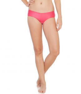 Soie Rouge Red Polyester / Spandex Panty For Women (code - Cp-1105rouge_reds)