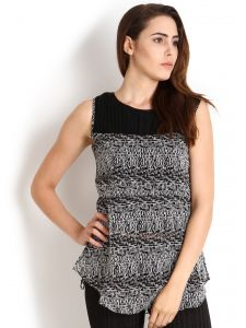 "Soie,Unimod Women's Clothing - Soie Printed Women""s Tunic(Product Code)_5487Print_"
