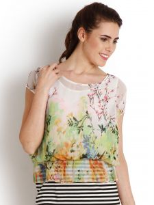 "Soie Printed Women""s Tunic(product Code)_5513print_"