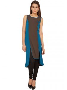 Soie Embroidered Casual Tunic (product Code - 6568)