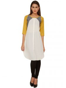 Soie Solid Regular Fit Casual Tunic (product Code - 6572)