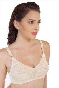 Women's Clothing - SOIE Beige Nylon / Spandex Bra For Women (Code - CB-311BEIGE)