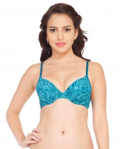 Soie Forest Print Nylon / Spandex Bra For Women (code - Fb-509forest_print)
