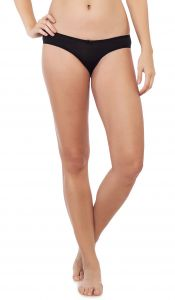Soie Black Nylon / Spandex Panty For Women (code - Fp-1508black)