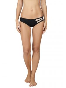 Soie Black Nylon Spandex Panty For Women (code - Fp-1515black)