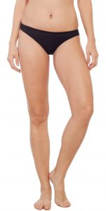Soie Black Nylon / Spandex Panty For Women (code - Fp-1701black)