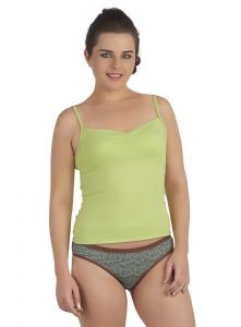 Soie Green Cotton/spandex Inner For Women (code - Innergreen)