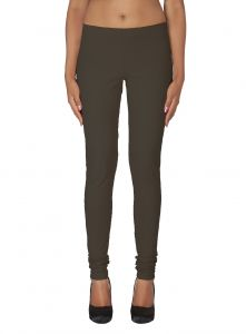 Lime,Surat Tex,Soie,Jagdamba,Sangini,Triveni,Oviya,Bikaw Women's Clothing - Soie Solid Leggings Available In Many Colours (Product Code)_L-16Berry 27_