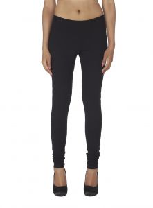 Surat Tex,Soie,Avsar,Fasense Leggings - Soie Solid Leggings Available In Many Colours (Product Code)_L-16Black 13_