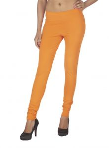 Hoop,Soie,Platinum,Arpera,Kaamastra Leggings - Soie Solid Leggings Available In Many Colours (Product Code)_L-16B.Orange 11_