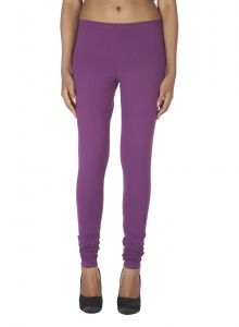 Soie Solid Leggings Available In Many Colours (product Code)_l-16d.purple 8_