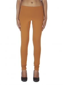 Soie,Unimod,Vipul,Kaamastra,Clovia Leggings - Soie Solid Leggings Available In Many Colours (Product Code)_L-16L.Brown 10_