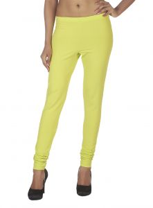 Soie Solid Leggings Available In Many Colours (product Code)_l-16lm Green 36_