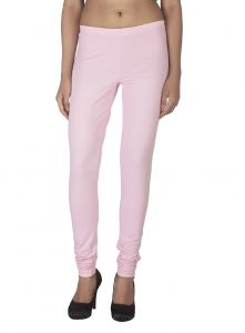 Soie,Flora,Oviya,Fasense Women's Clothing - Soie Solid Leggings Available In Many Colours (Product Code)_L-16L.Pink 5_