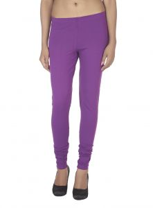 Hoop,Shonaya,Soie,Vipul,Kaamastra,Unimod,Sinina Women's Clothing - Soie Solid Leggings Available In Many Colours (Product Code)_L-16Orchid 25_