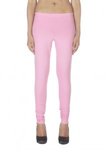 Soie,Unimod,Vipul,Kaamastra,La Intimo,Surat Tex Women's Clothing - Soie Solid Leggings Available In Many Colours (Product Code)_L-16Pink 19_
