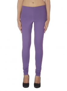 Soie,Flora,Oviya,Fasense,The Jewelbox,Asmi Women's Clothing - Soie Solid Leggings Available In Many Colours (Product Code)_L-16Purple 6_