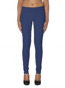 Vipul,Pick Pocket,Kaamastra,Soie,The Jewelbox,Hoop Leggings - Soie Solid Leggings Available In Many Colours (Product Code)_L-16R.Blue 14_