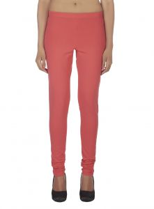 Rcpc,Ivy,Soie Leggings - Soie Solid Leggings Available In Many Colours (Product Code)_L-16Rose 29_