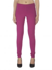 Vipul,Kaamastra,Soie,Arpera,Platinum,Sukkhi Women's Clothing - Soie Solid Leggings Available In Many Colours (Product Code)_L-16Wine 18_
