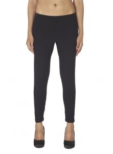 Rcpc,Ivy,Soie,Surat Diamonds,Port,Jharjhar Leggings - Soie White Solid Leggings(Product Code)_L-18Black 13_