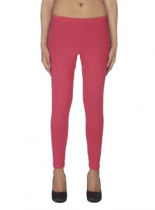 Soie,Port,Ag,Cloe Leggings - Soie White Solid Leggings(Product Code)_L-18D.Pink 16_