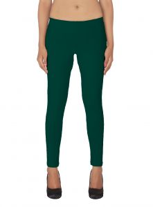 Ivy,Soie,Bagforever,Flora Leggings - Soie White Solid Leggings(Product Code)_L-18Green 22_