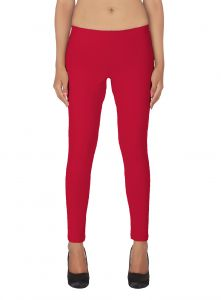 Vipul,Oviya,Soie,Kaamastra,Parineeta Women's Clothing - Soie White Solid Leggings(Product Code)_L-18Rani 1_