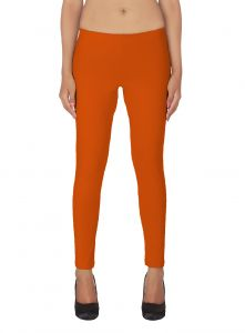 Soie White Solid Leggings(product Code)_l-18rust 12_