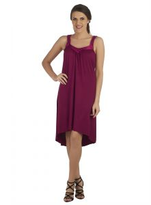 Soie Plum Spandex Sleepwear For Women (code - Nt-13plum)