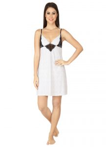 Soie Mesh Nylon Spandex Sleepwear For Women (code - Nt-26mesh)