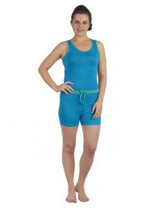 5f098f5904 Buy Soie Navy Satin Night Suit For Women Online | Best Prices in ...