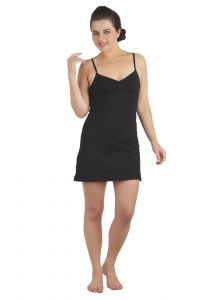 Soie Black Cotton / Spandex Inner For Women (code - Sc-1black)