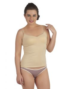 Soie Beige Cotton / Spandex Inner For Women (code - Sc-2beige)