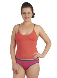 Soie Orange Cotton / Spandex Innerwear For Women (code - Sc-2orange)