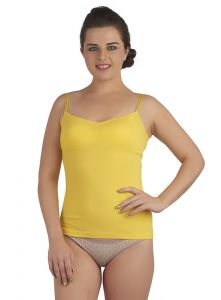 Soie Yellow Cotton / Spandex Inner For Women (code - Sc-3yellow)