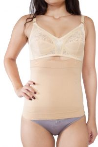 Body shapers - SOIE Beige Polyamide Spandex Shapewear For Women (Code - SHW-1BEIGE)