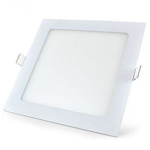 12w LED Square Panel Lights Pack Of 2 Pics.