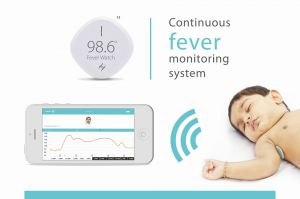 Health & safety - 98.6 Fever Watch, Continuous Fever Monitoring System(wireless)