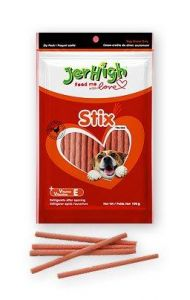 Jerhigh Stix Dog Treats, 100 G 100 Grams