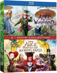 English Movies - Alice in Wonderland and Alice Through the Looking Glass - BD