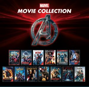 Action Movies (English) - Marvel Movie Collection - 13 Movie Set DVD