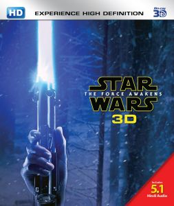 Action Movies (English) - Star Wars: The Force Awakens - 3D BD