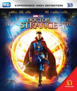Action Movies (English) - Doctor Strange - 3D BD