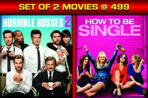Comedy Movies (English) - HORRIBLE BOSSES 2 / HOW TO BE SINGLE - DVD Combo